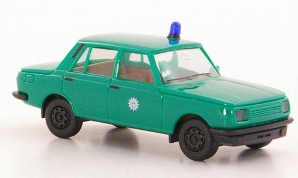 Wartburg 353 1/87 Herpa Polizei Grenzschutzdienst Ost 1985 miniature