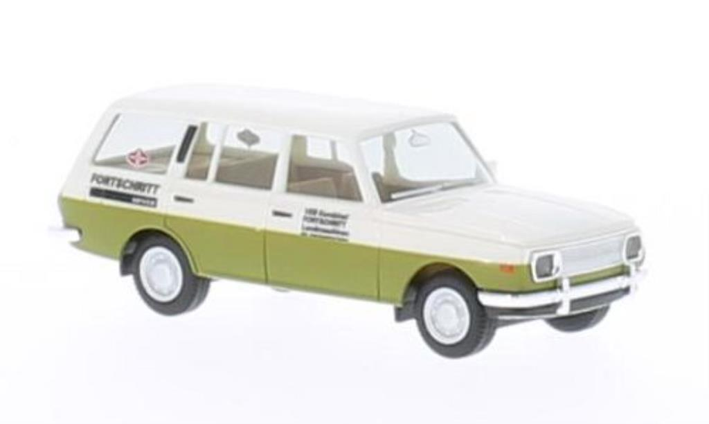 Wartburg 353 1/87 Herpa Tourist Fortschritt Service 1966 miniature