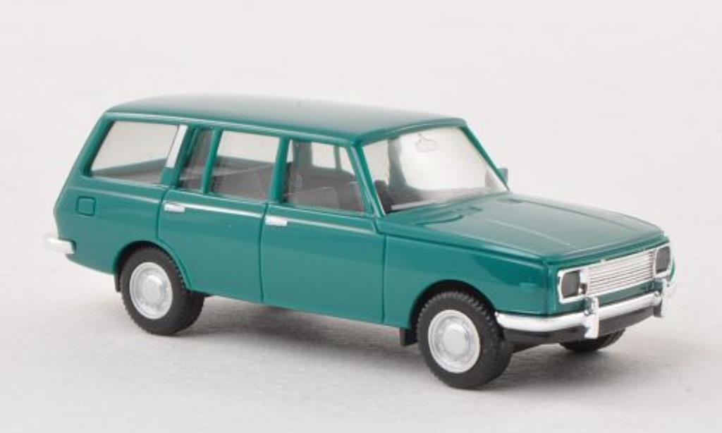 Wartburg 353 1/87 Herpa Tourist grun 1966 miniature