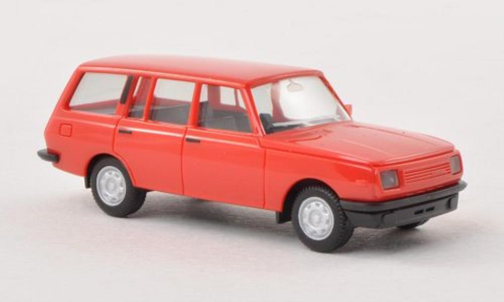 Wartburg 353 1/87 Herpa Tourist rouge 1985 miniature