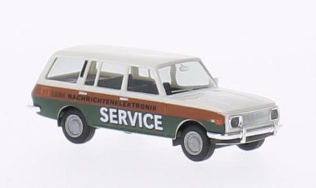 Wartburg 353 1/87 Herpa Tourist VEB Funkwerk Kopenick 1966 miniature