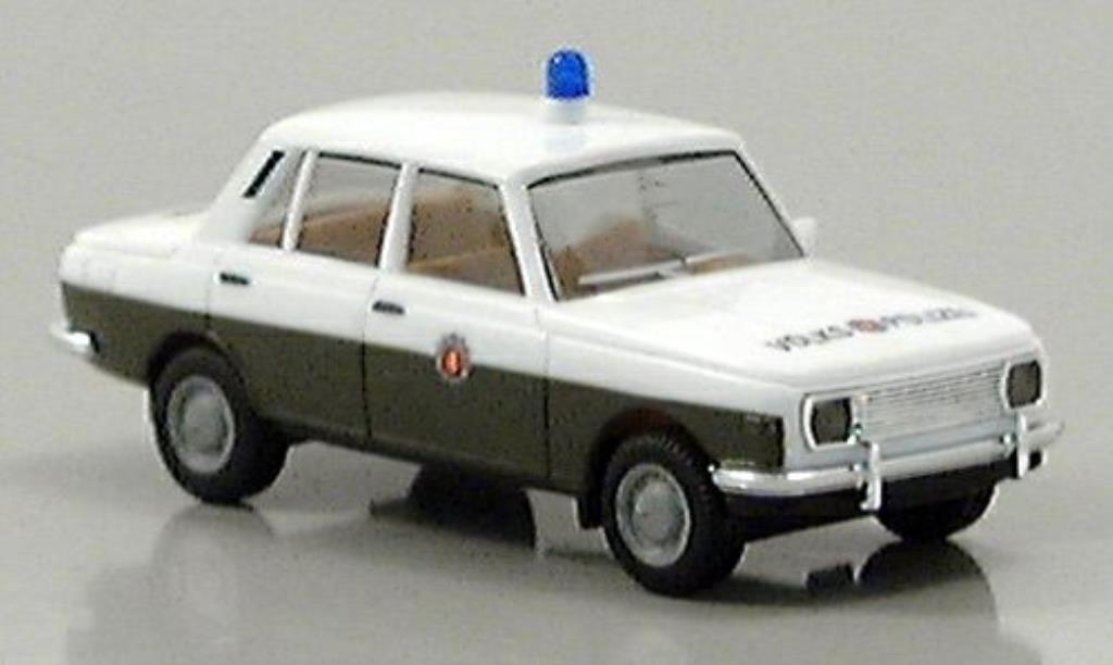 Wartburg 353 Volkspolizei 1966 Herpa. Wartburg 353 Volkspolizei 1966 Police miniature 1/87