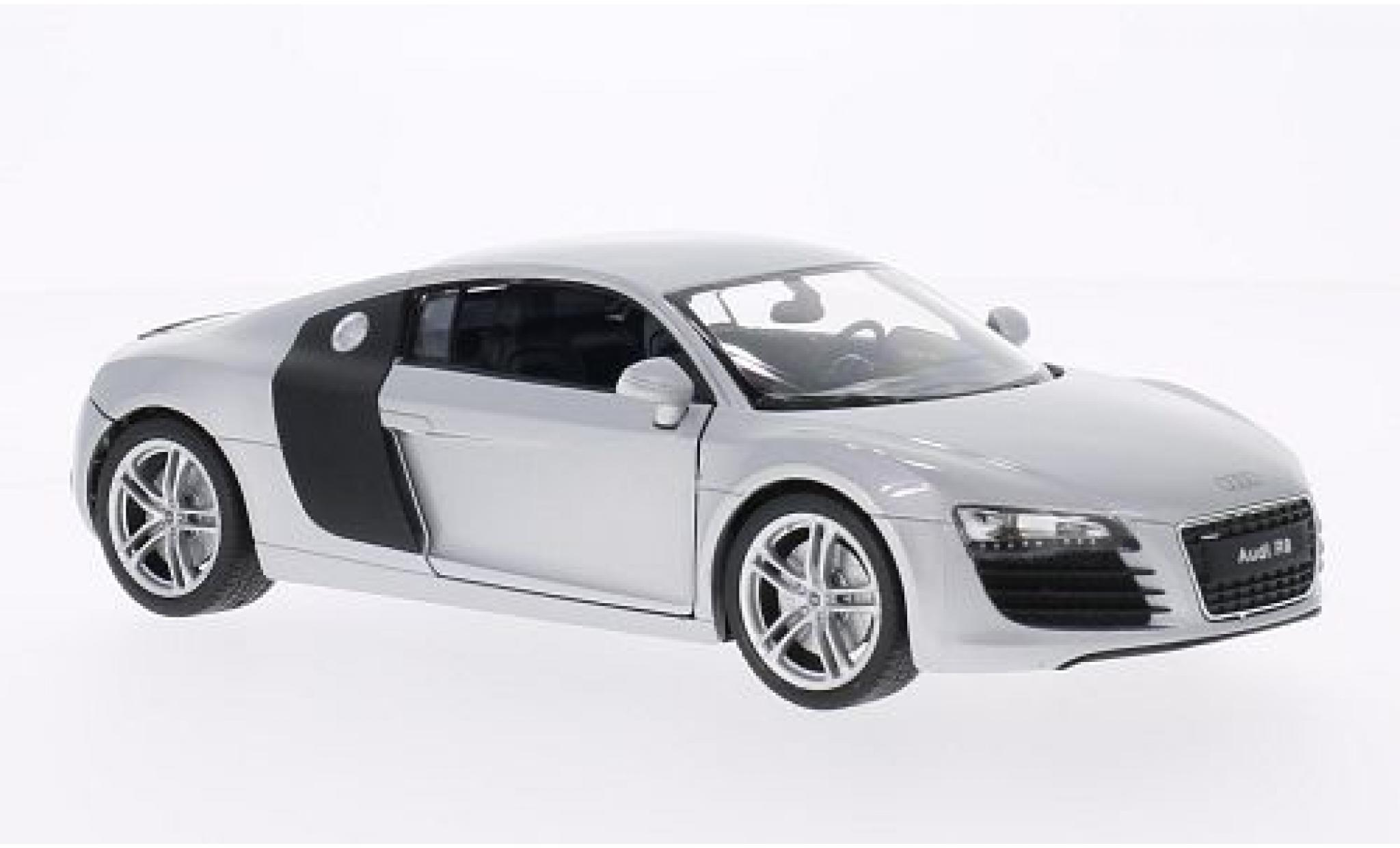 Audi R8 1/24 Welly V10 grise/carbon