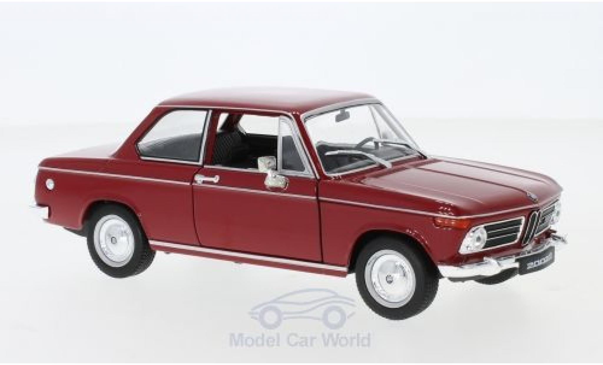 Bmw 2002 1/24 Welly ti rouge
