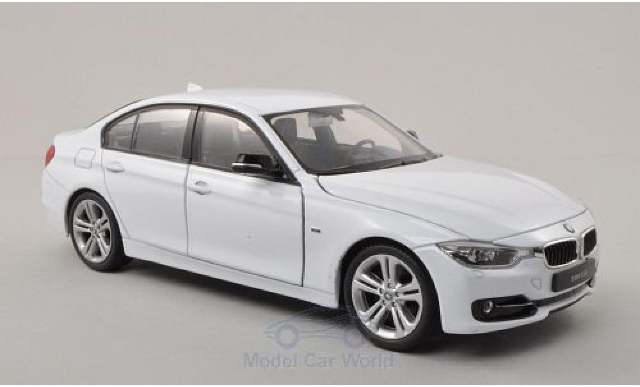 Bmw 335 1/24 Welly i (F30) blanche