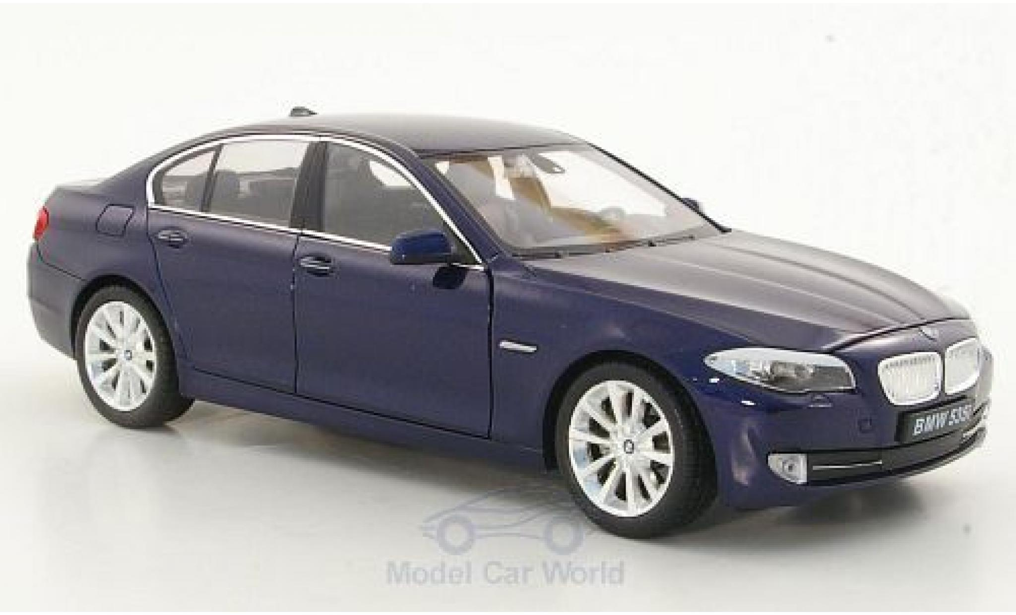 Bmw 535 F10 1/24 Welly i  metallise bleue