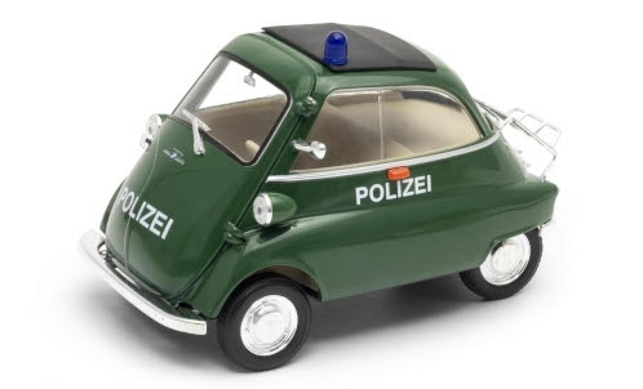 Bmw Isetta 1/18 Welly 250 Polizei