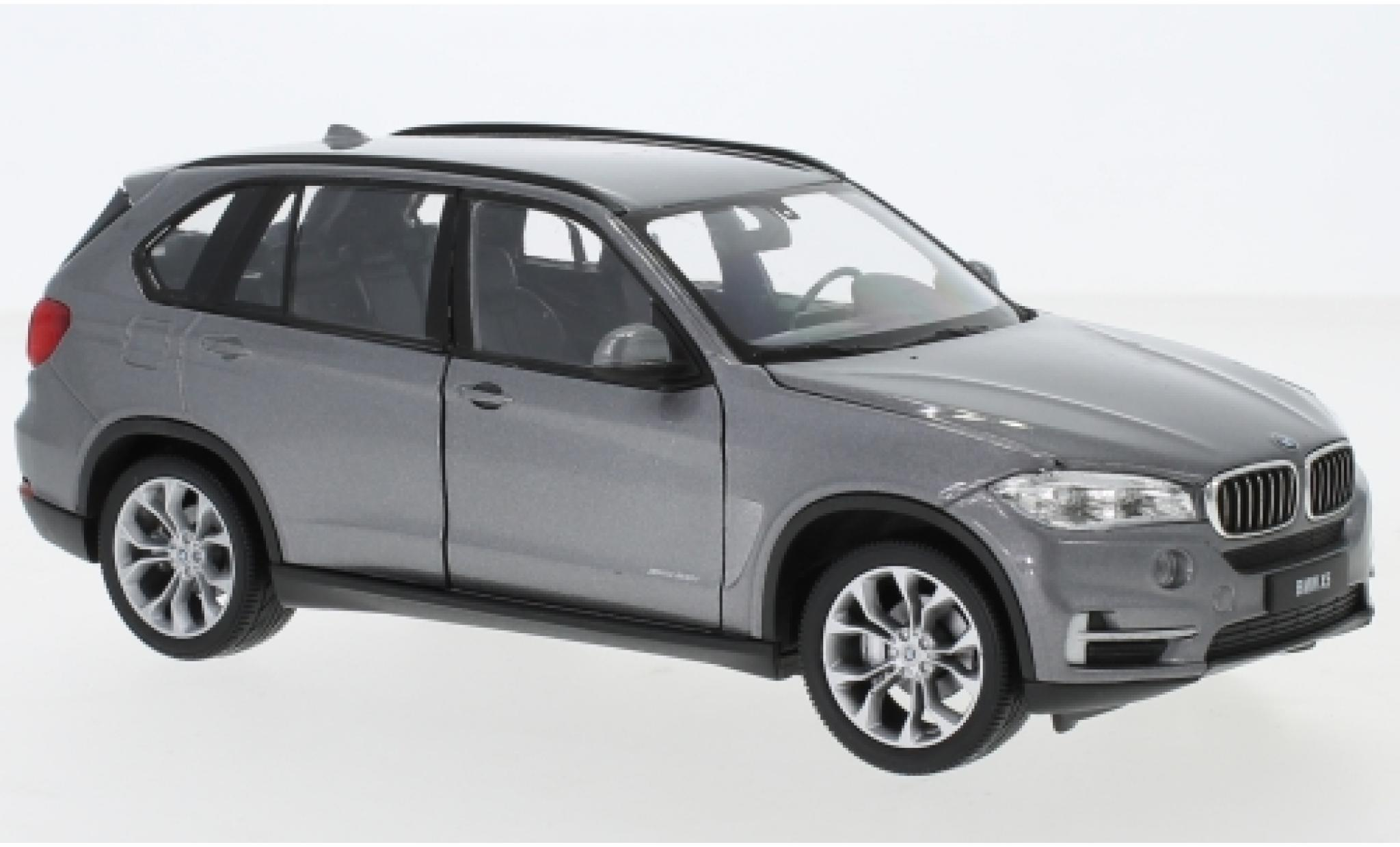 Bmw X5 1/24 Welly (F15) metallise grise