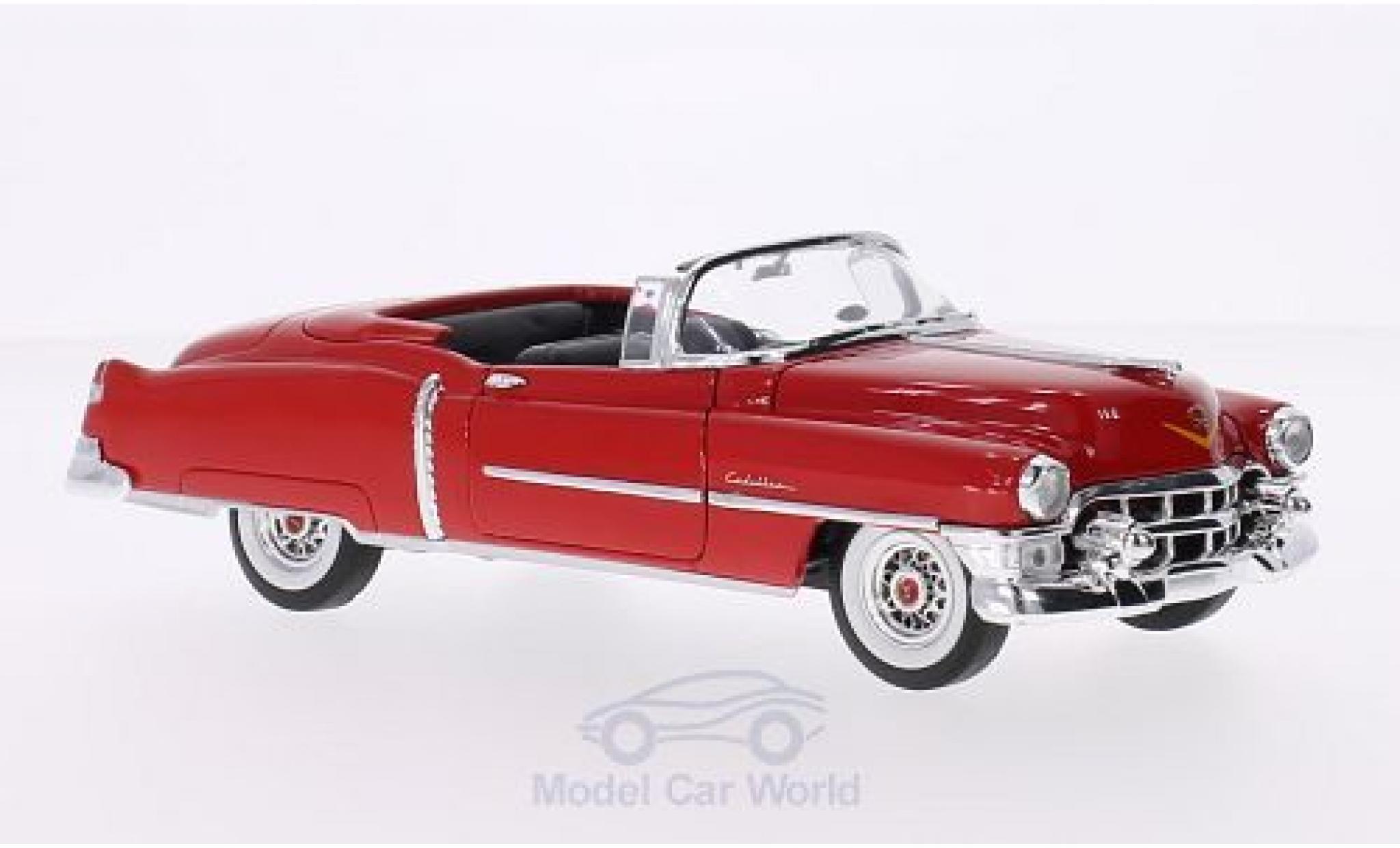Cadillac Eldorado 1/24 Welly Convertible rouge 1953