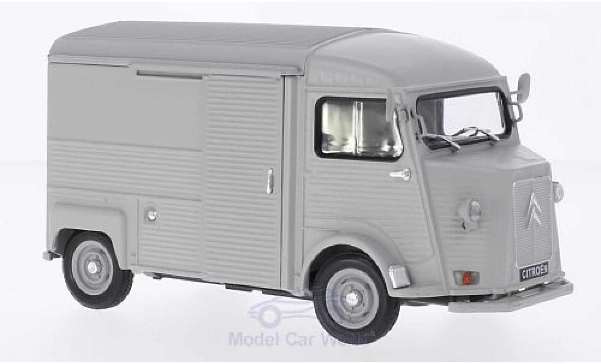 Citroen Type H 1/24 Welly matt-hellgrise