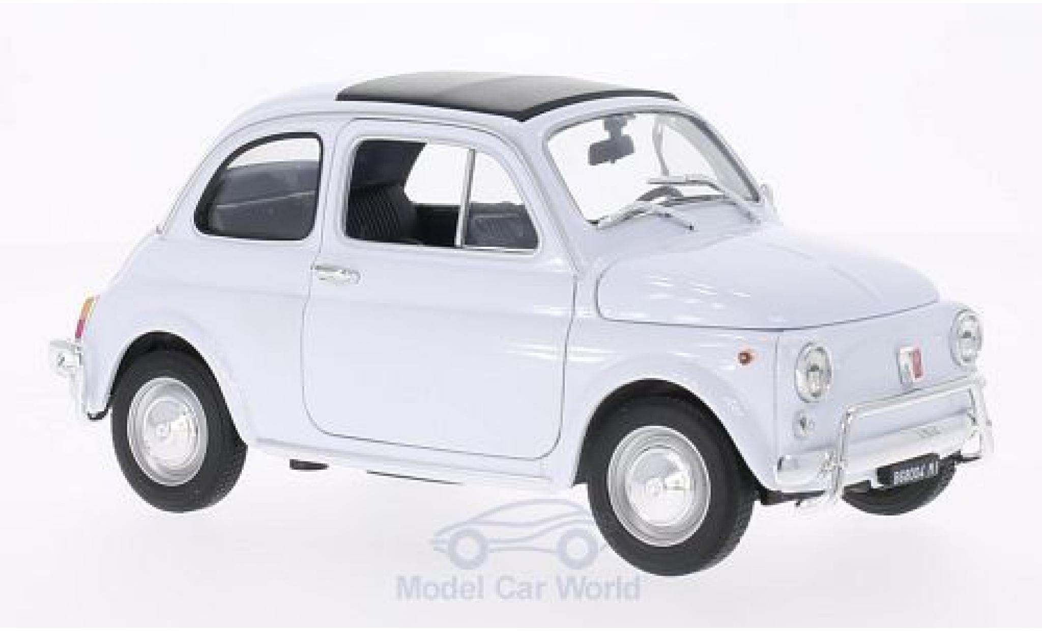Fiat 500 1/18 Welly white 1957