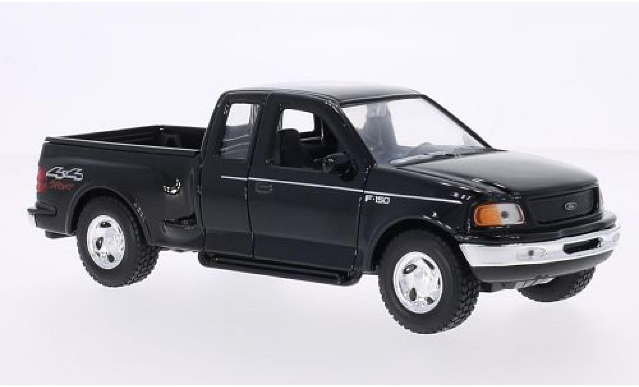 Ford F-1 1/24 Welly 50 Flareside Supercab noire 1999
