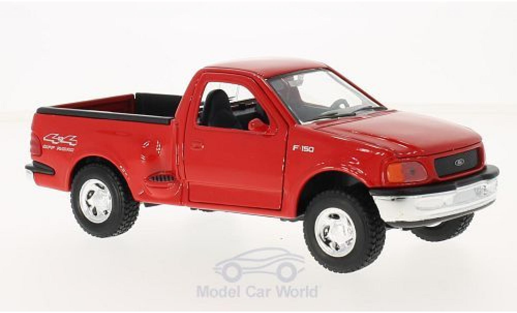 Ford F-1 1/24 Welly 50 Styleside rouge 1999