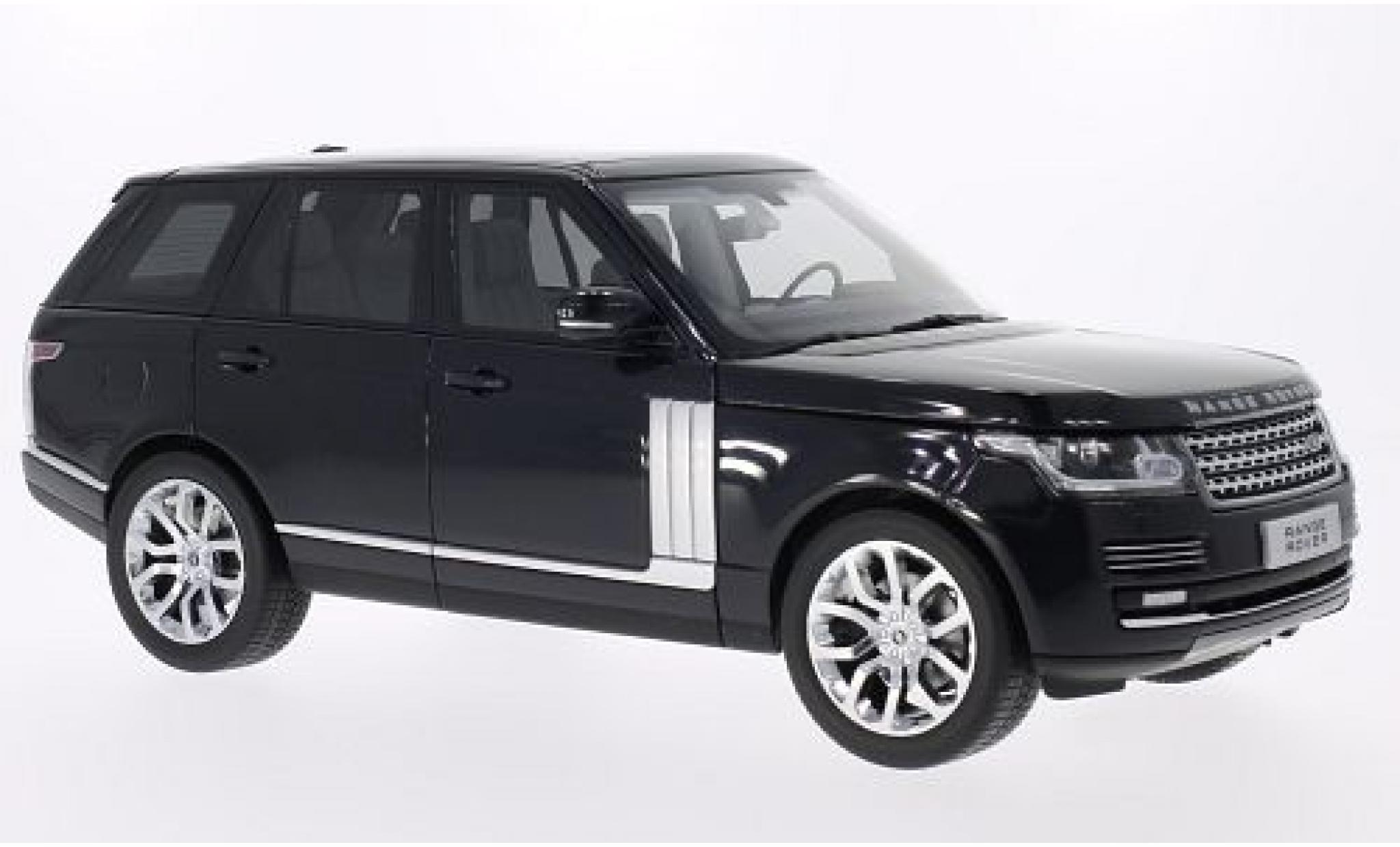 Land Rover Range Rover 1/18 Welly metallise noire 2013 GTA Edition