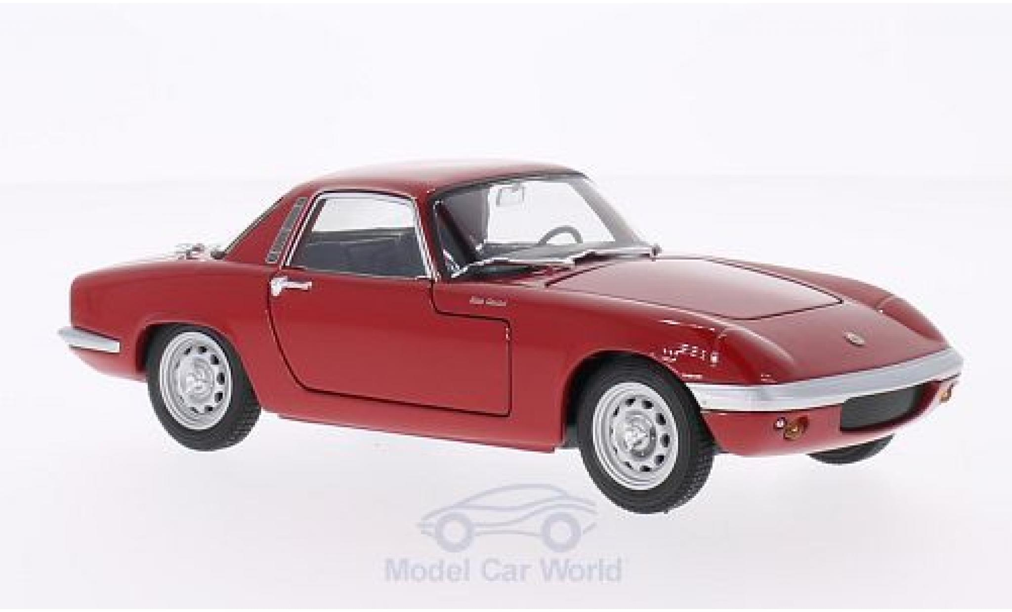 Lotus Elan 1/24 Welly rouge 1965
