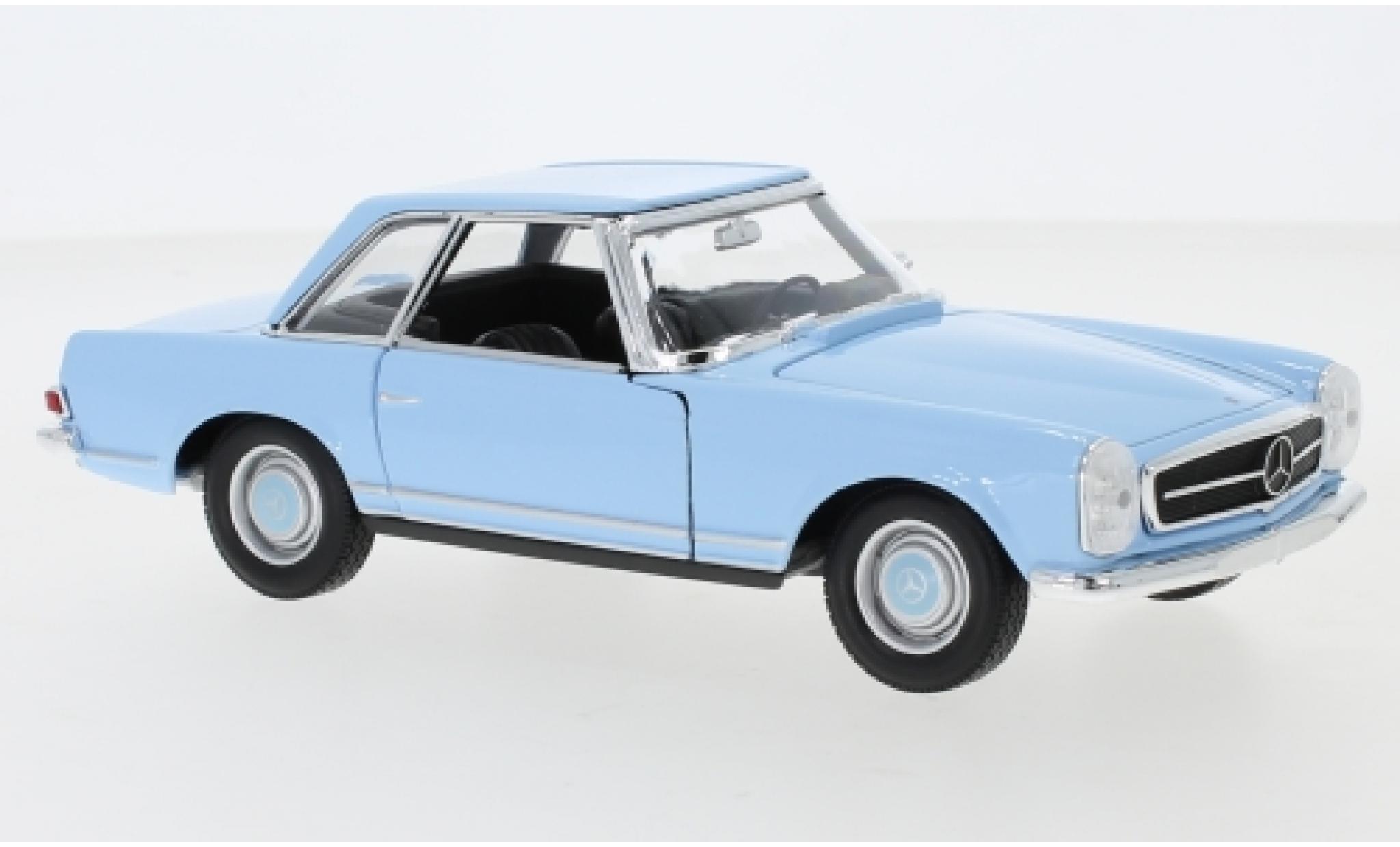 Mercedes 230 1/24 Welly SL (W113) blue 1963