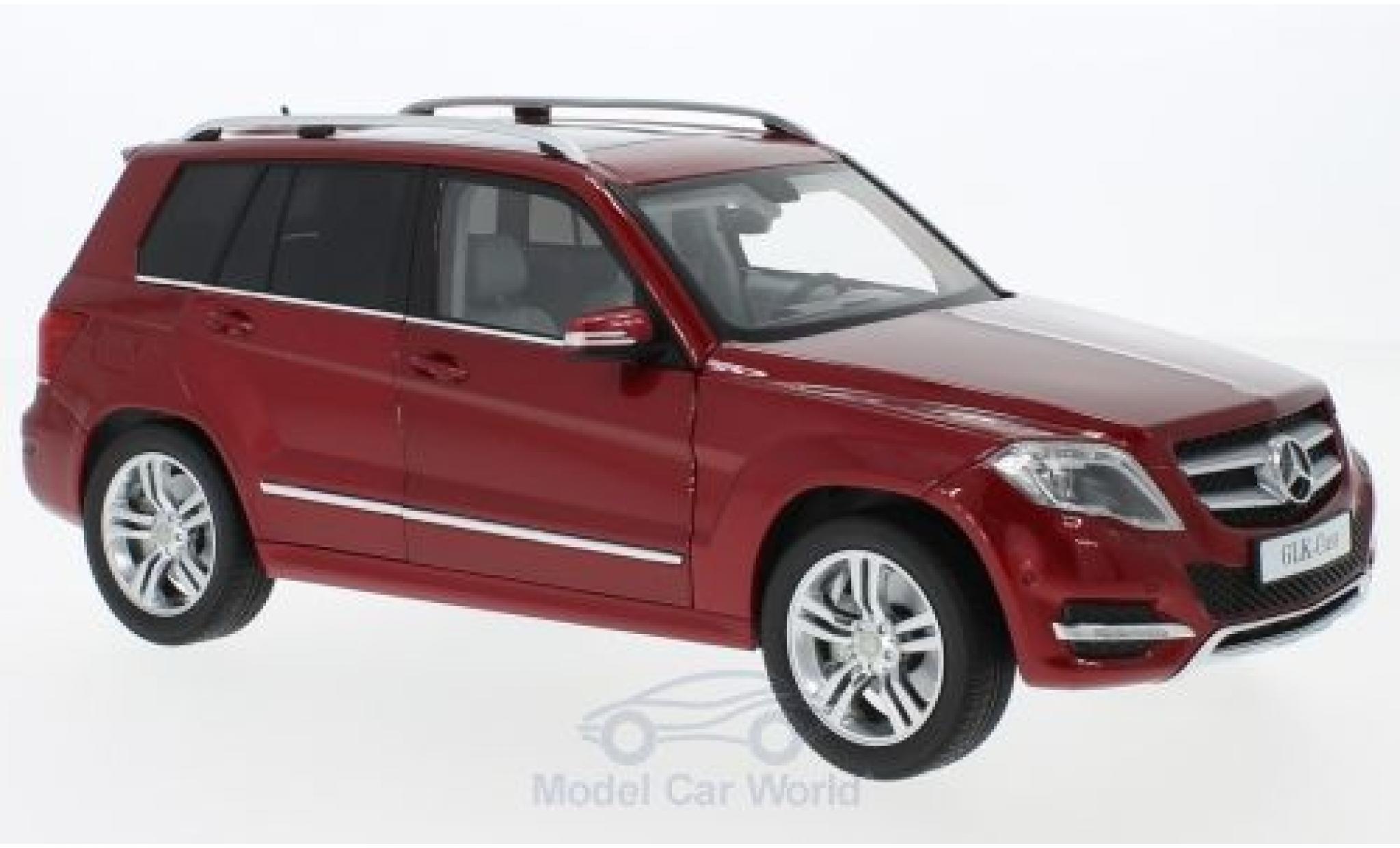 Mercedes Classe GLK 1/18 Welly rouge 2013 GTA Edition