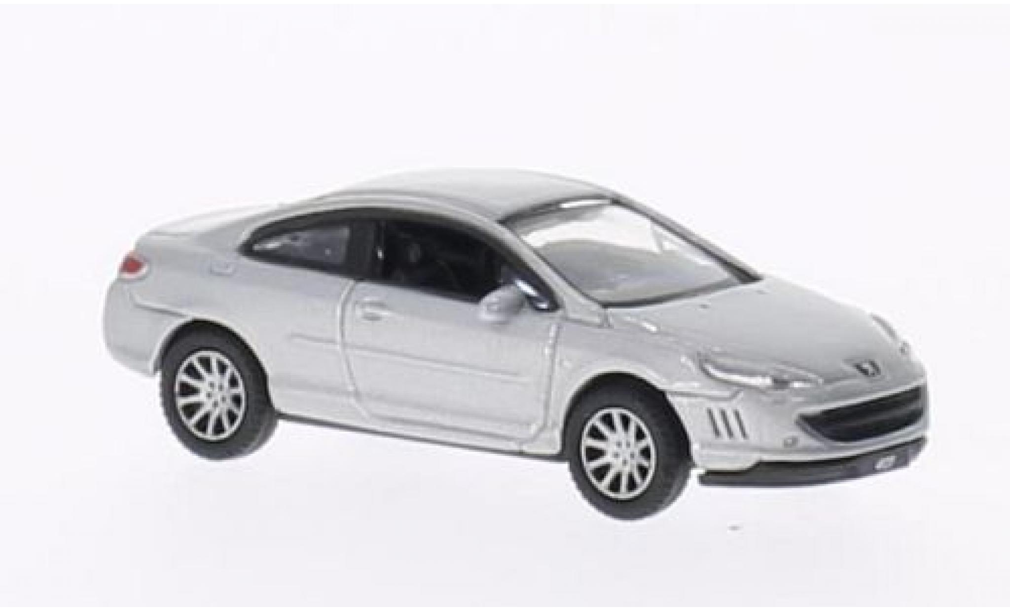Peugeot 407 1/87 Welly Coupe grise