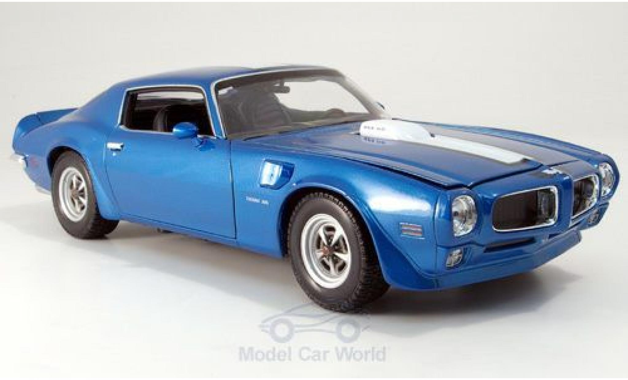PONTIAC TRANS-AM FIREBIRD BLEU WELLY 1//18