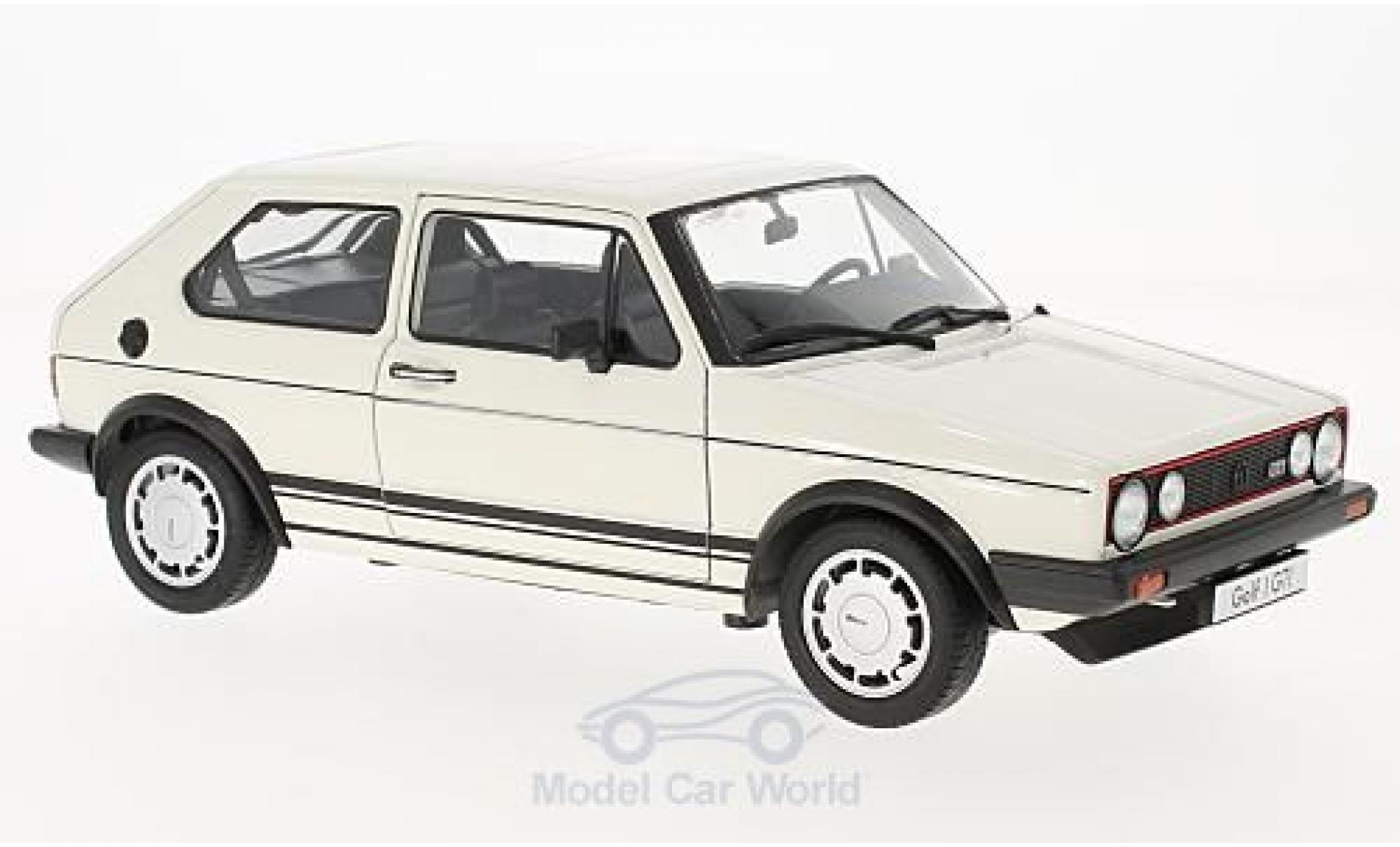Volkswagen Golf V 1/18 Welly I GTI white 1982