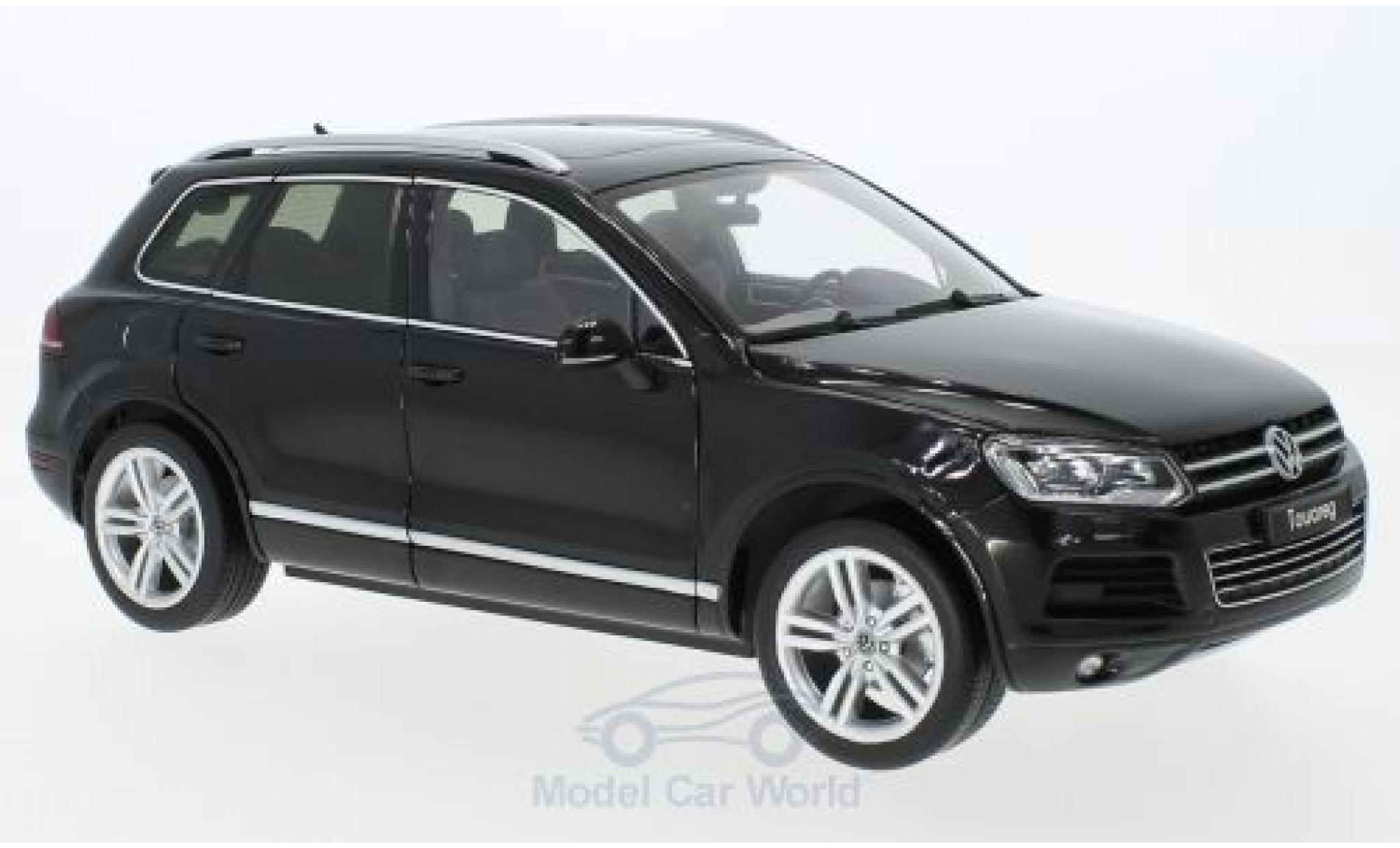 Volkswagen Touareg 1/18 Welly II metallic-black GTA Edition
