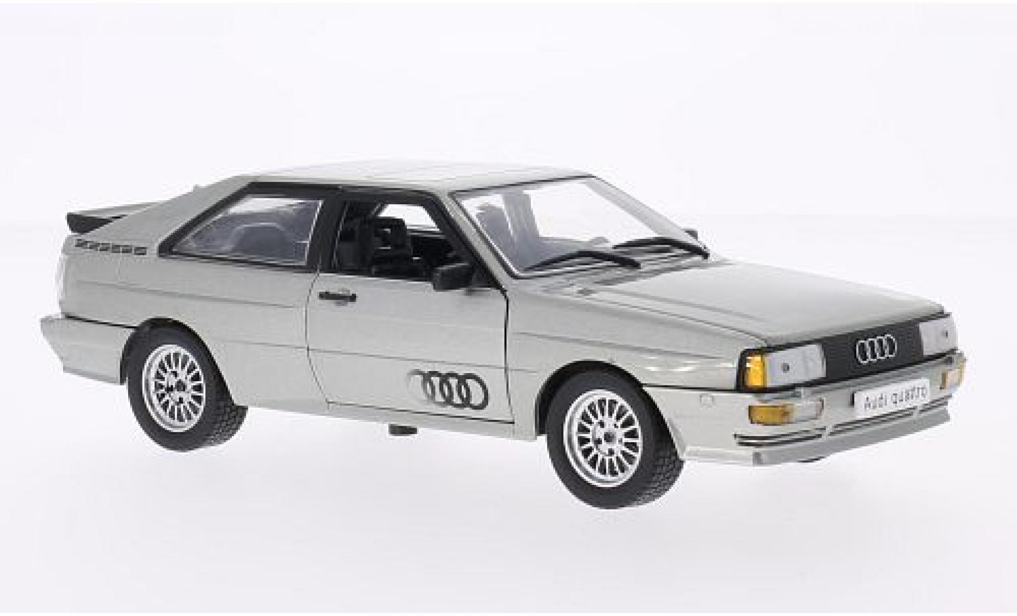 Audi Quattro 1/24 WhiteBox grise 1986