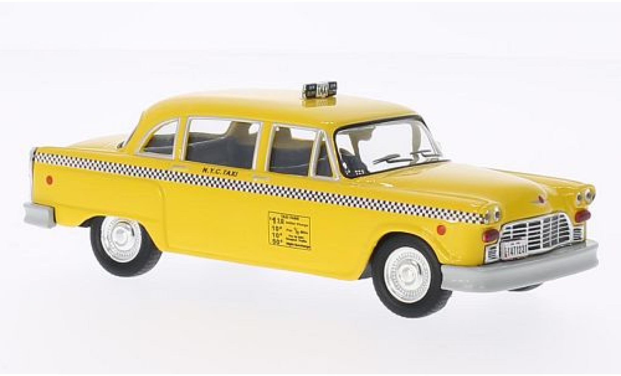 Checker Marathon 1/43 WhiteBox New York 1980 Taxi