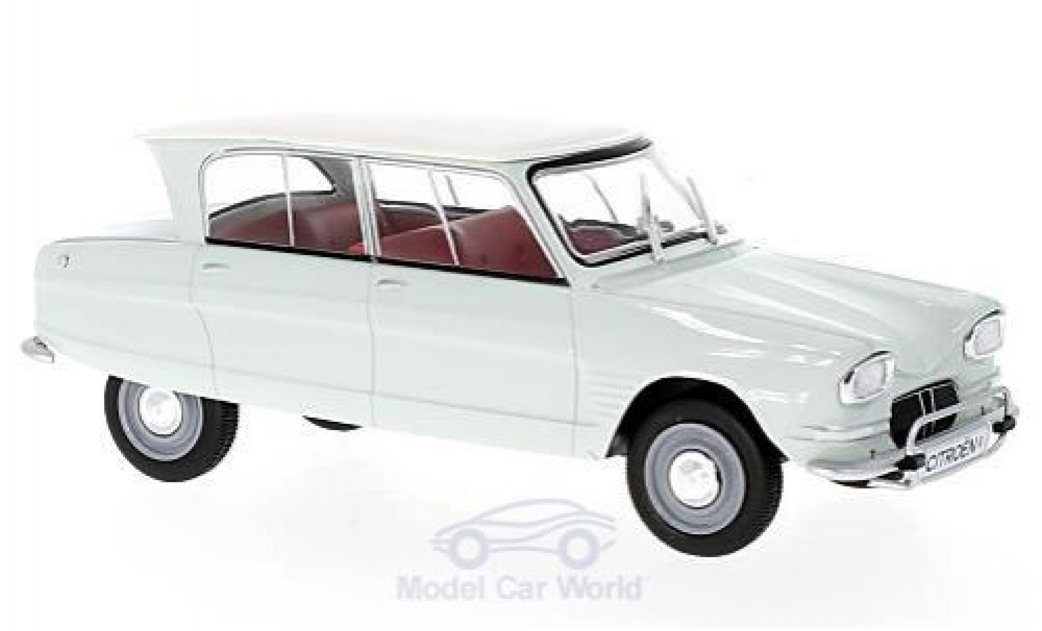 Citroen Ami 6 1/24 WhiteBox AMI 6 green/white 1961