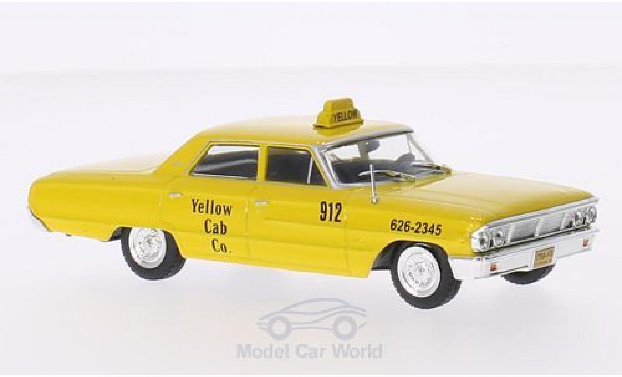Ford Galaxy 1/43 WhiteBox Galaxie 500 New York Taxi 1967