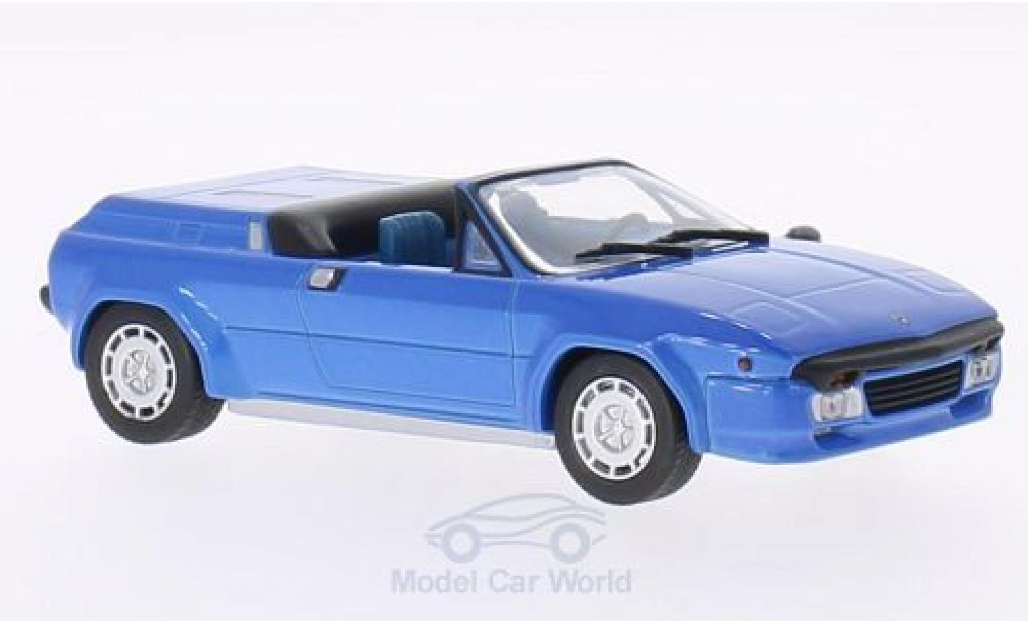 Lamborghini Jalpa 1/43 WhiteBox Spyder Predotipo metallise blue 1987