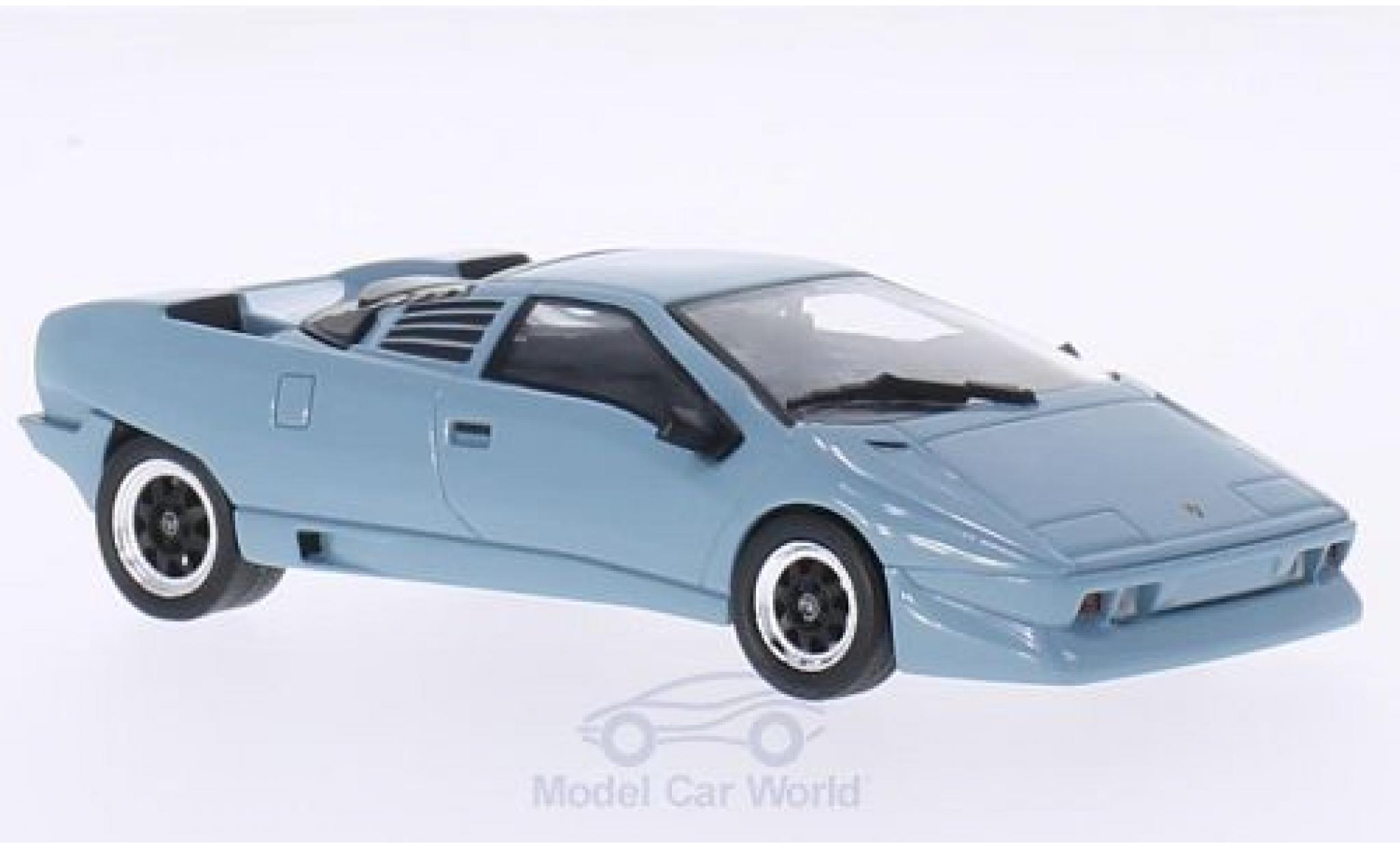 Lamborghini P132 1/43 WhiteBox Predotipo blue 1986