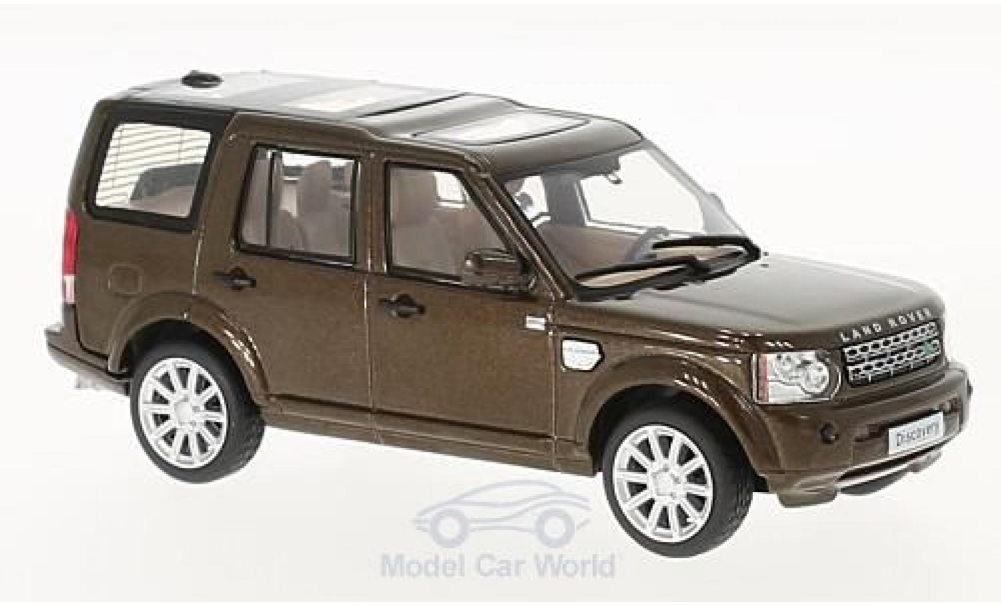 Land Rover Discovery 1/43 WhiteBox 4 metallise marron 2010