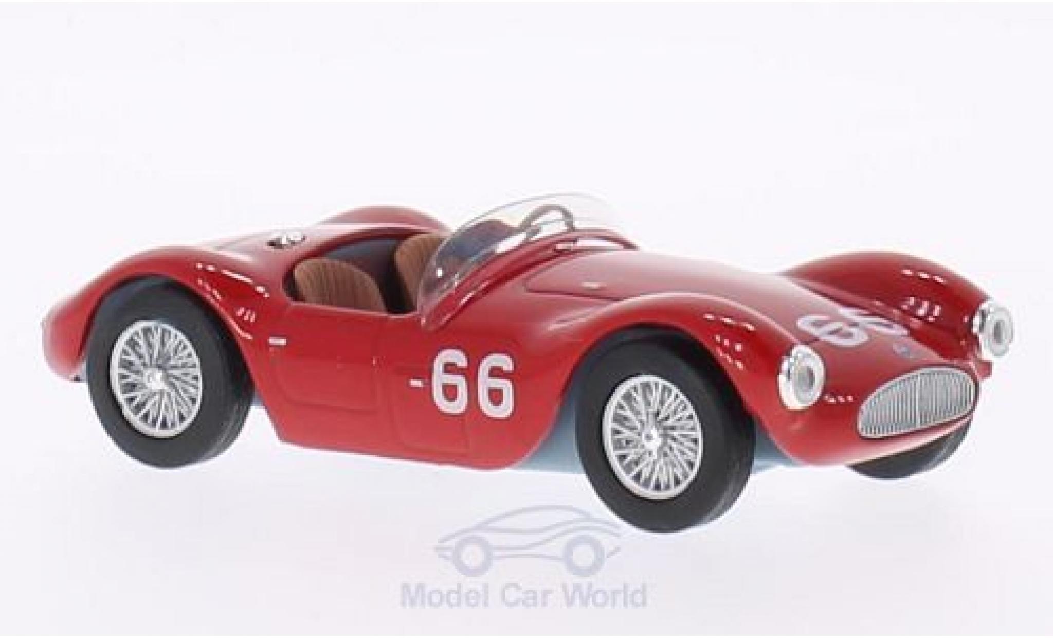 Maserati A6 1/43 WhiteBox GCS No.66 Officine Alfieri Targa Florio 1953 J.M.Fangio/S.Mantovani