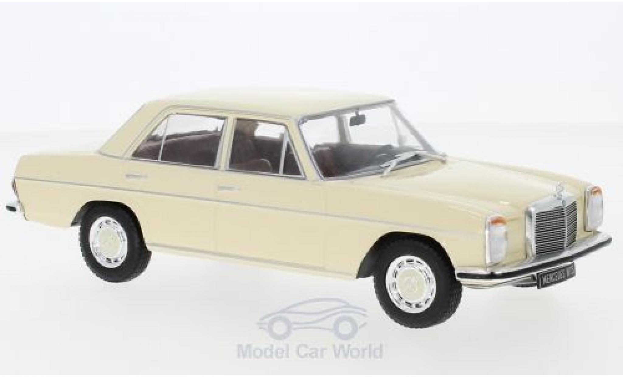 Mercedes 200 1/24 WhiteBox D (W115) beige 1968