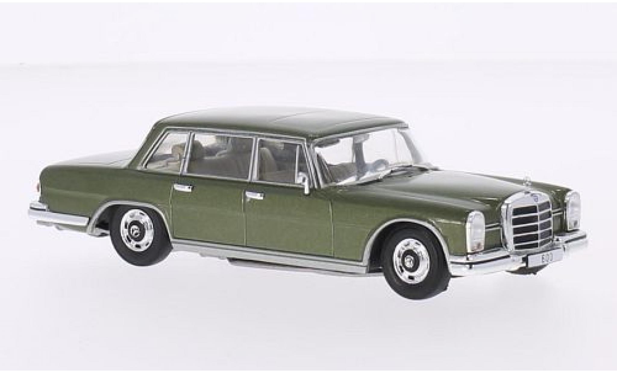 Mercedes 600 1/43 WhiteBox (W100) metallise green 1964