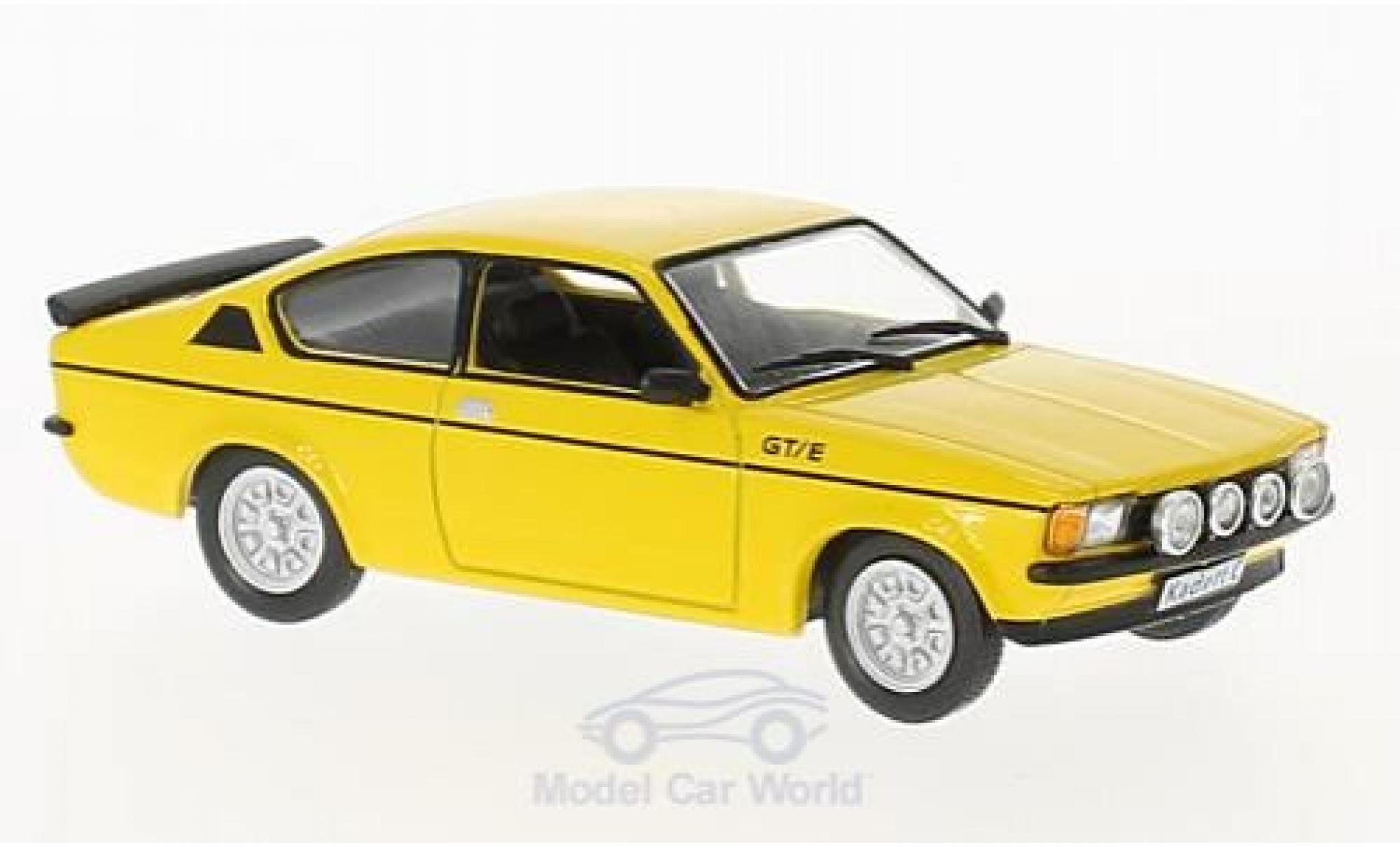 Opel Kadett GT 1/43 WhiteBox C GT/E jaune 1978
