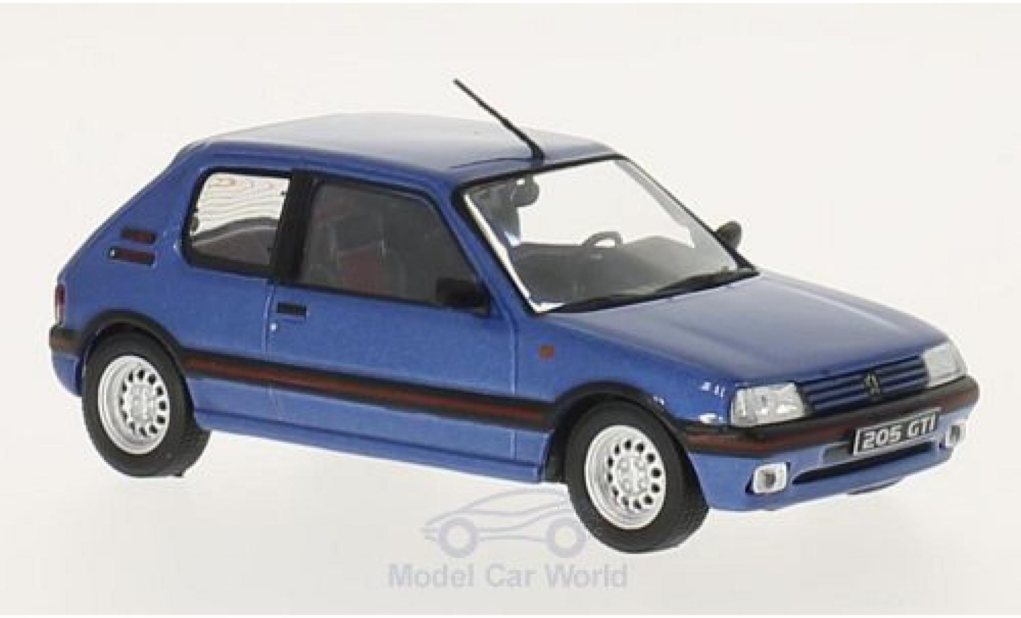 Peugeot 205 GTI 1/43 WhiteBox GTI metallic-bleue 1992