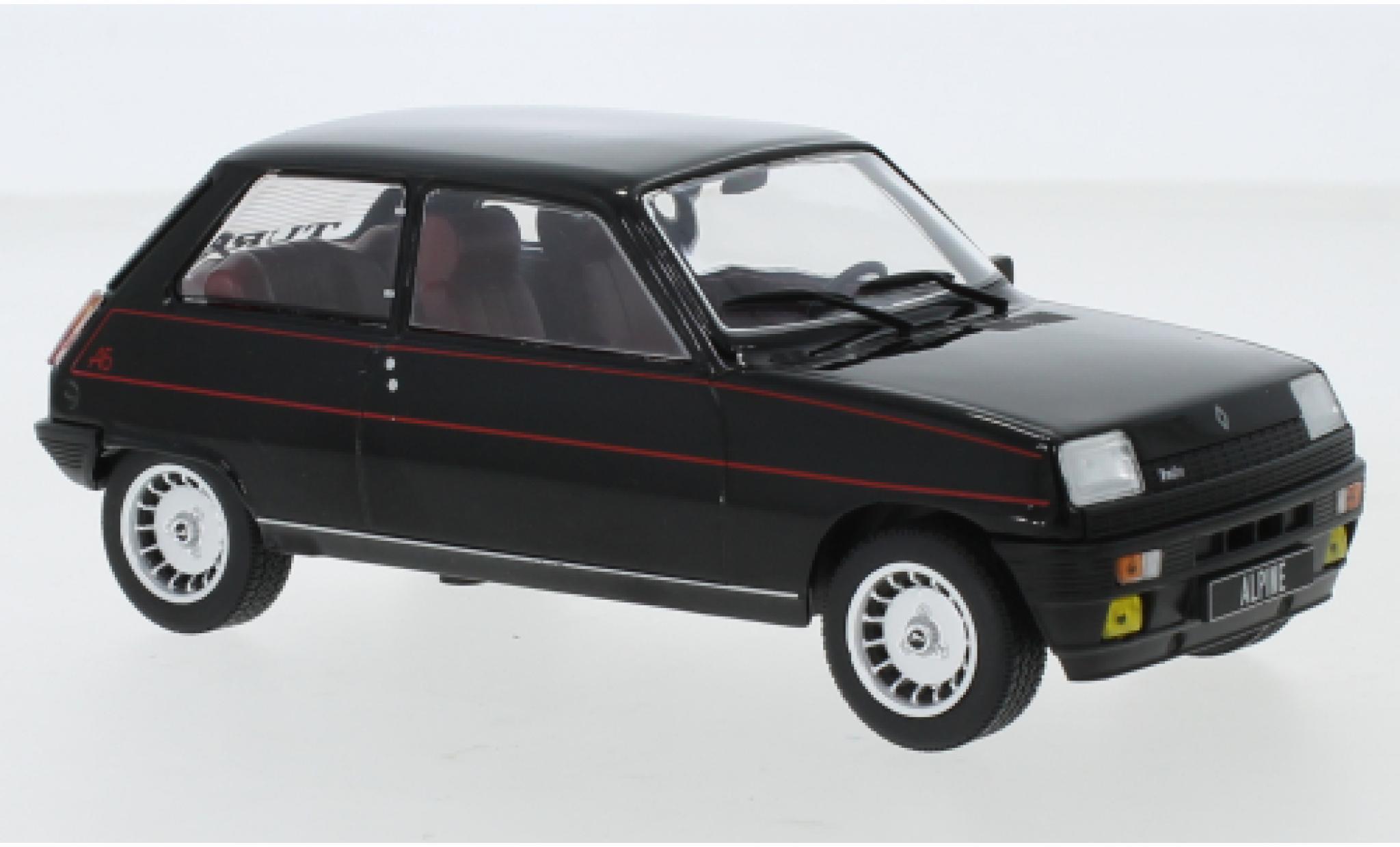 Renault 5 1/24 WhiteBox Alpine noire/Dekor 1982
