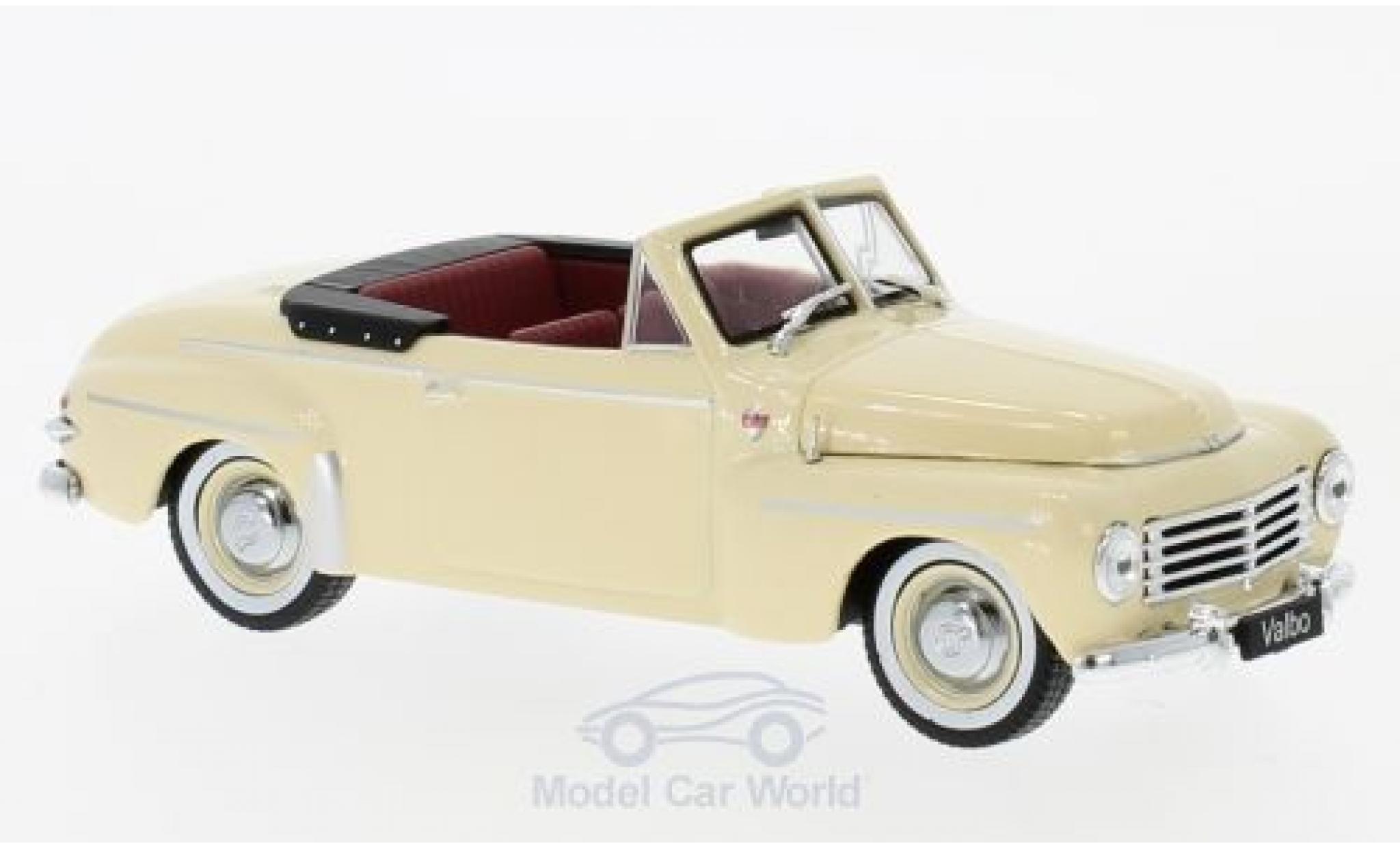 Volvo PV 445 1/43 WhiteBox Cabriolet Valbo beige 1953