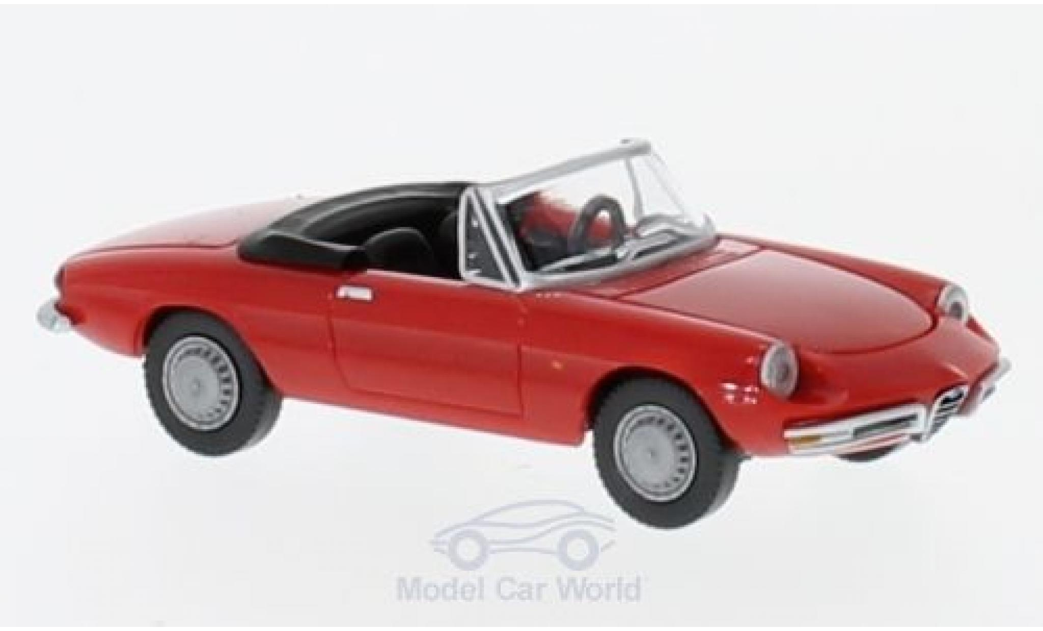 Alfa Romeo Spider 1/87 Wiking red