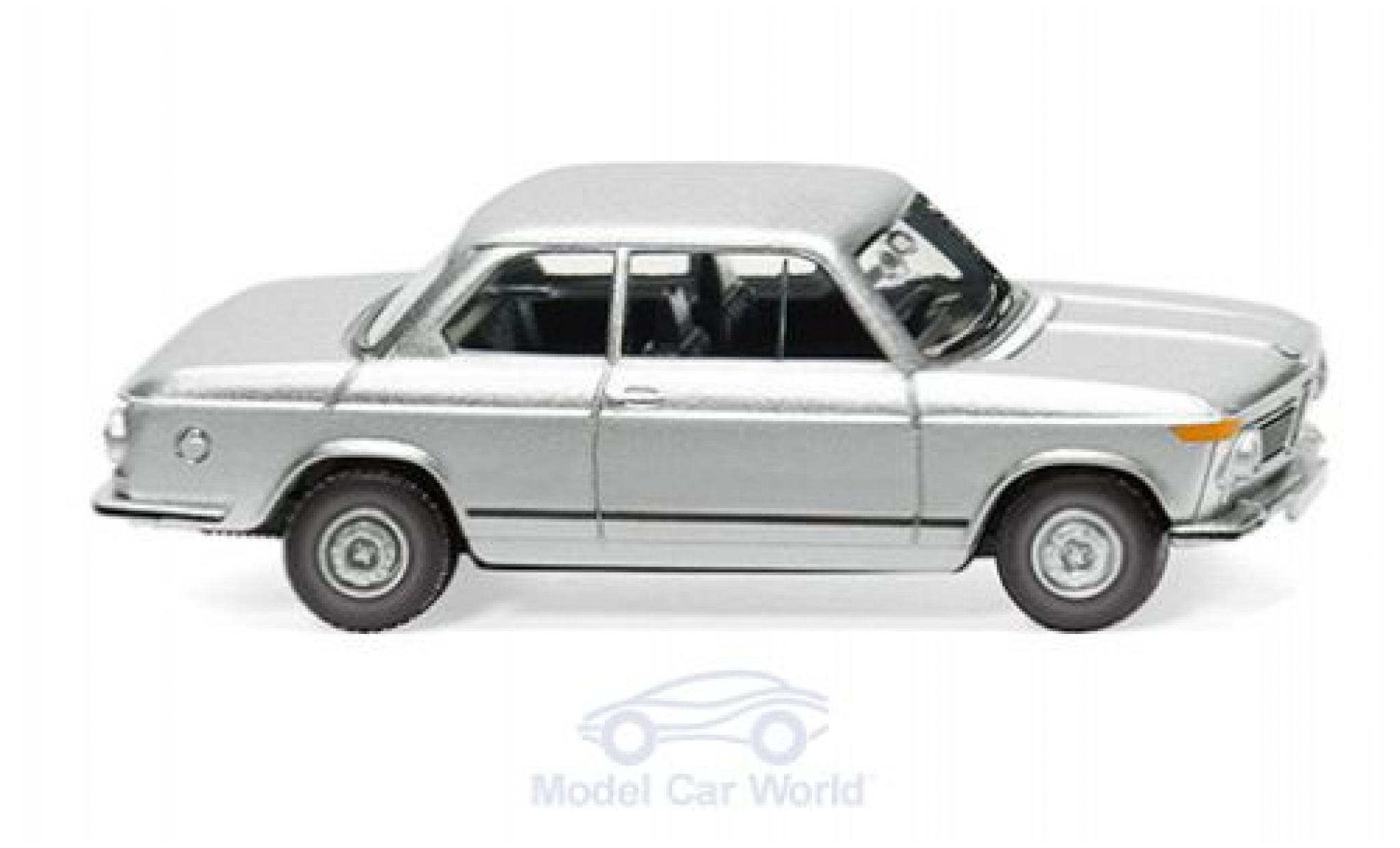 Bmw 2002 1/87 Wiking grise 1966