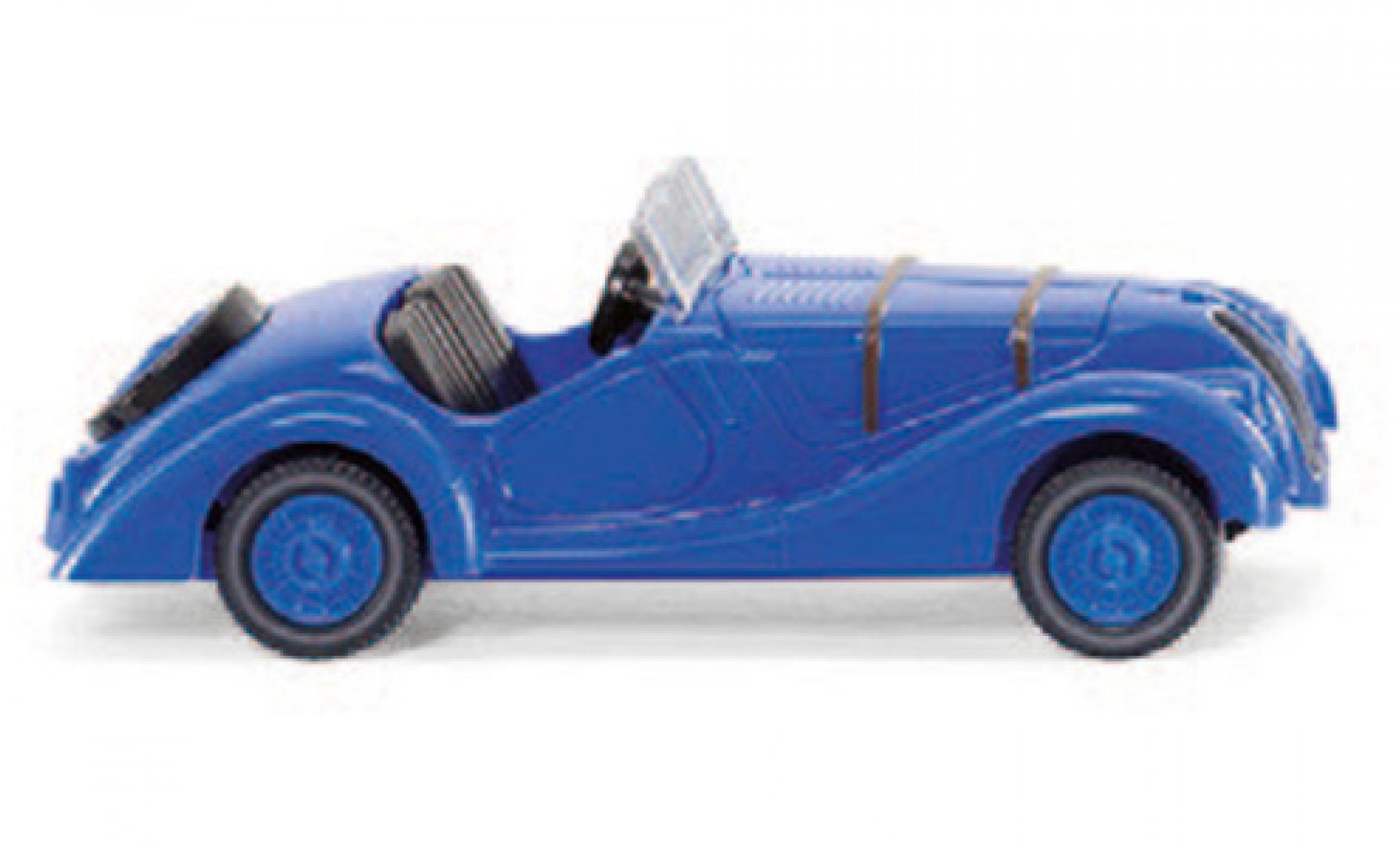 Bmw 328 1/87 Wiking bleue
