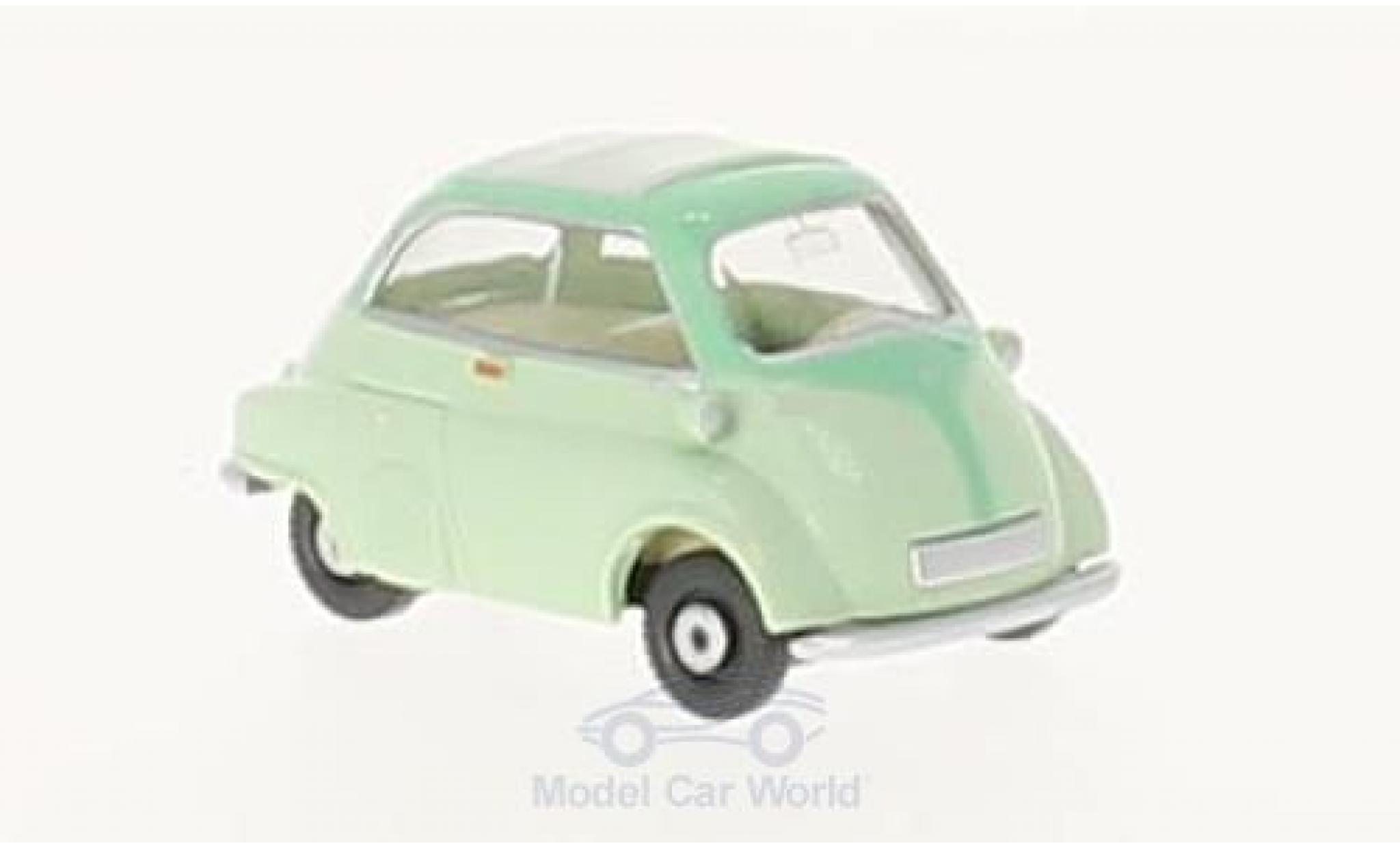 Bmw 600 turquesa coche modelo 1:43//Schuco