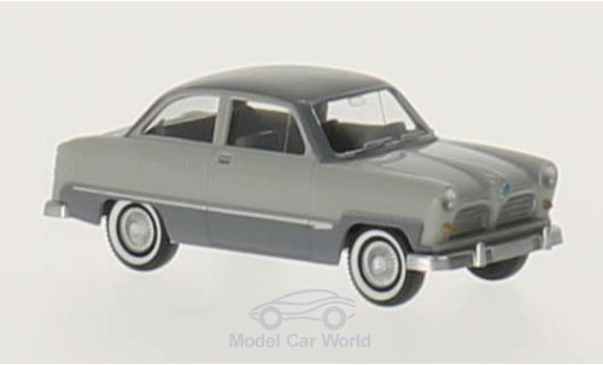 Ford Taunus 1/87 Wiking 12 M grise/dunkelgrise