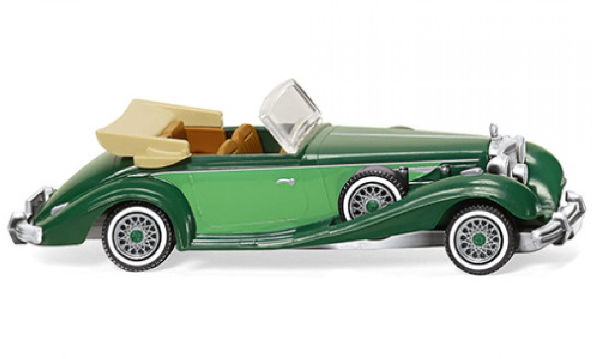 Mercedes 540 1/87 Wiking K Cabriolet verte/verte 1936
