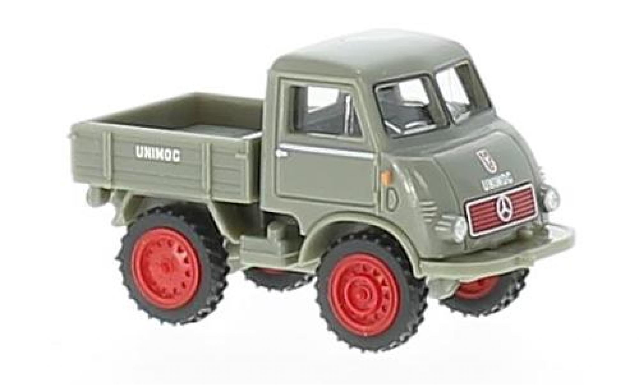 Mercedes Unimog 1/87 Wiking U 401 grey