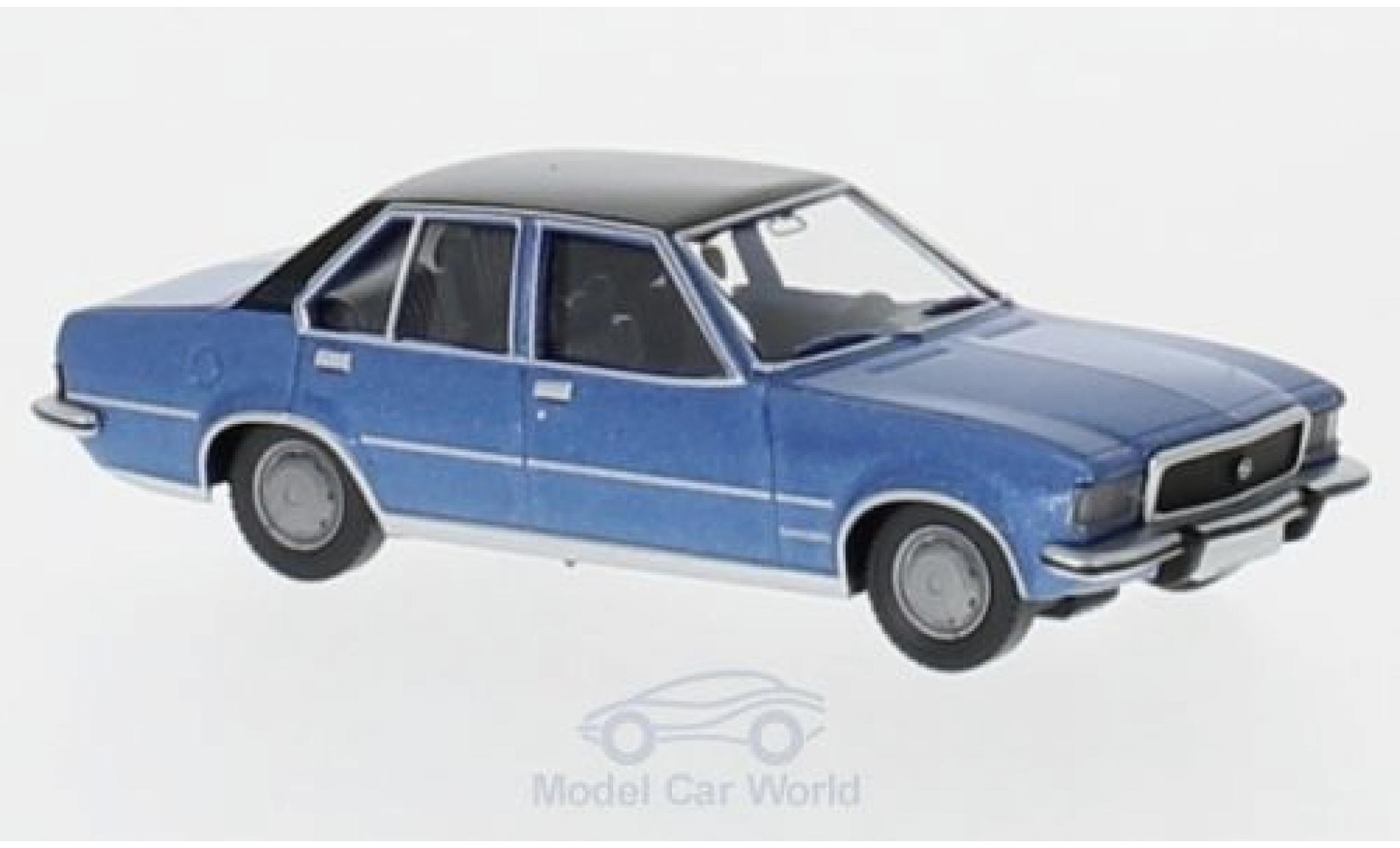 Opel Commodore C 1/87 Wiking B metallic-azul/negro