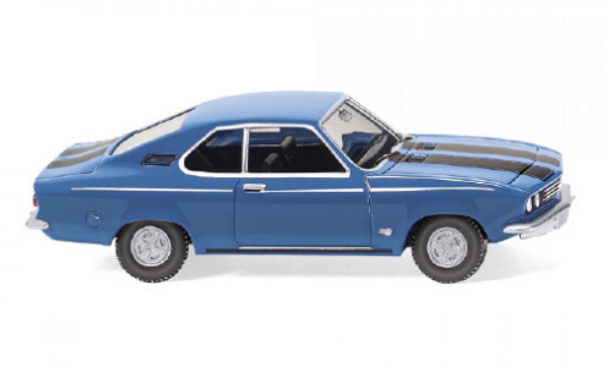 Opel Manta 1/87 Wiking A bleue/noire 1970
