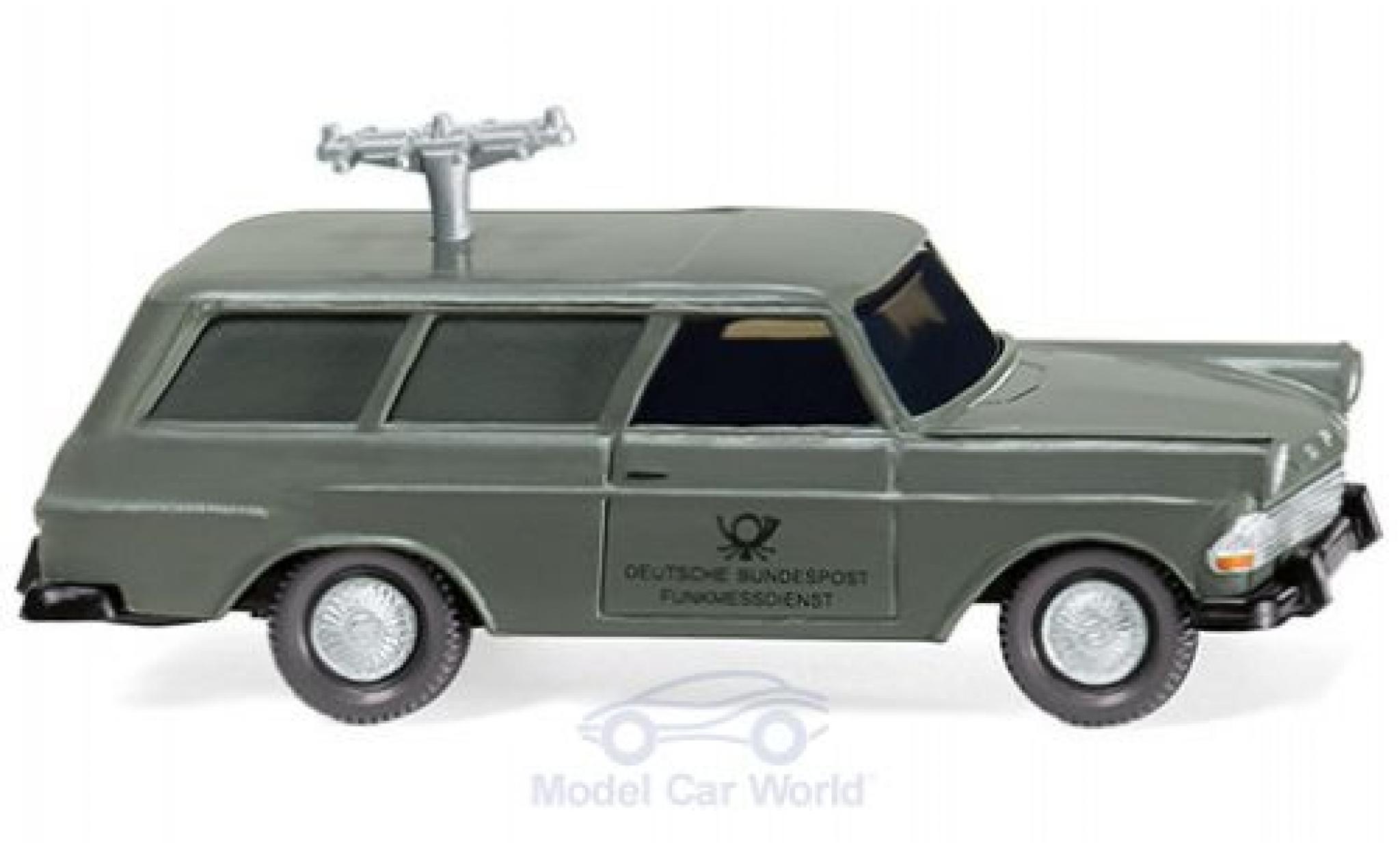 Opel Rekord 1/87 Wiking P2 Caravan Fernmeldedienst 1960