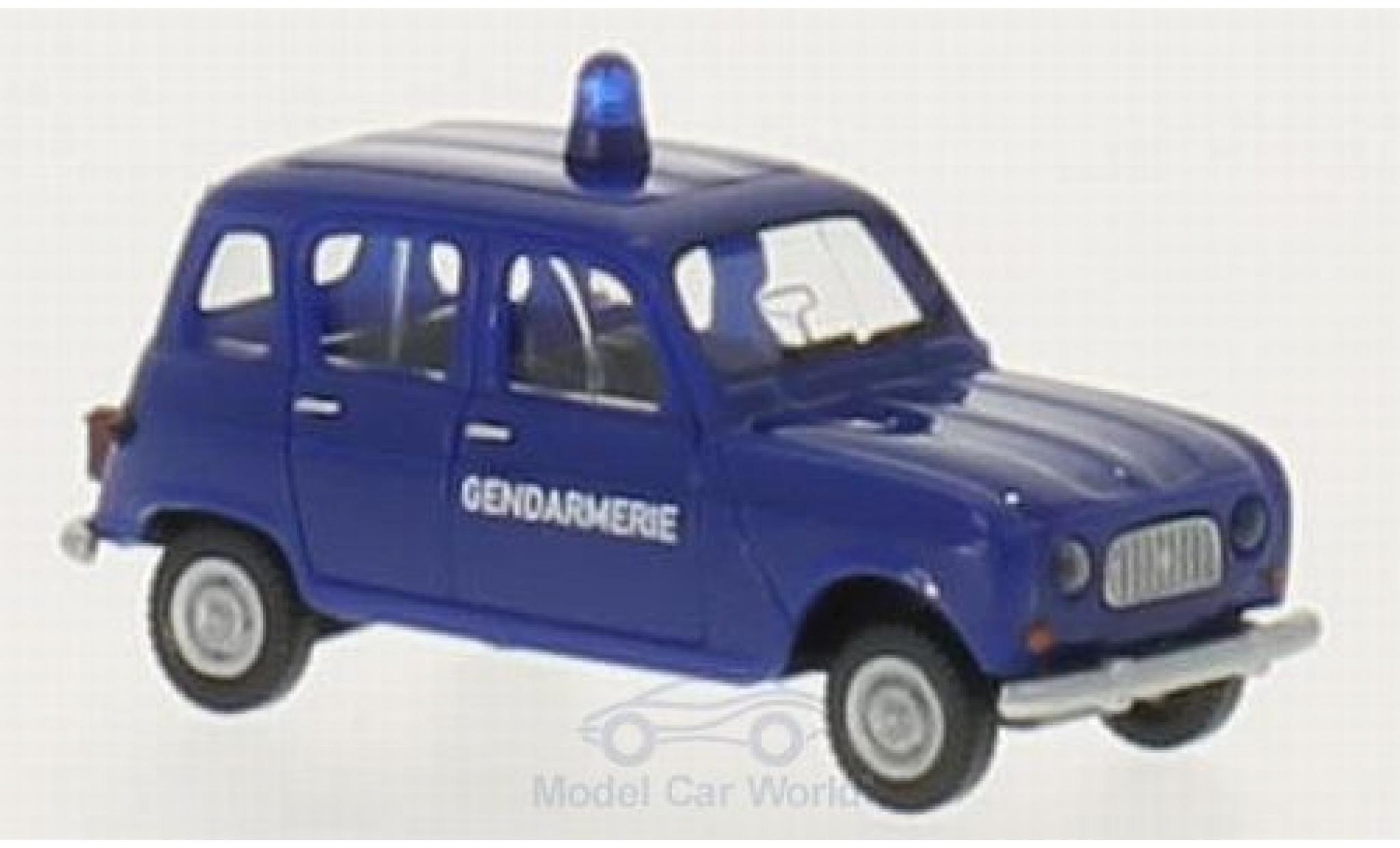 Renault 4 L 1/87 Wiking R Gendarmerie (F)
